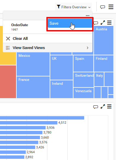 Create Dashboard View