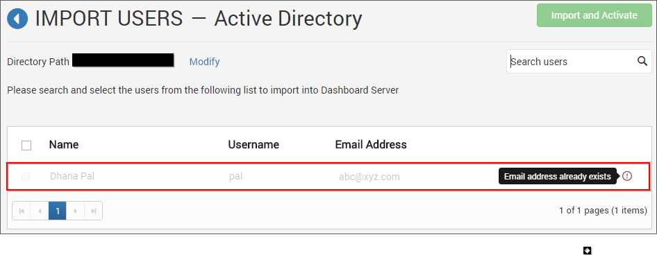 Duplicated Active Directory Users